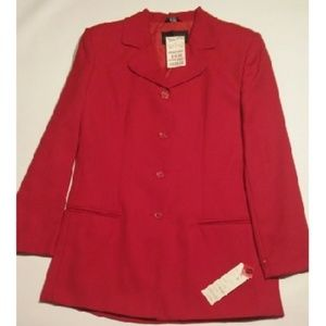 Red  Lady Jacket